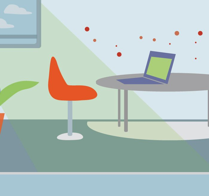 10 Working From Home Tips for Creating Healthy Indoor Air Quality